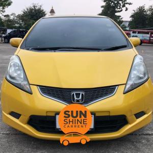 รถเช่าเชียงใหม่ HONDA JAZZ TOP ปี2009
