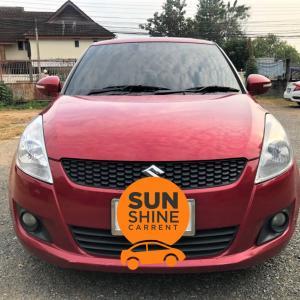 รถเช่าเชียงใหม่ SUZUKI SWIFT ปี2012