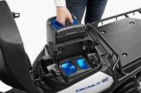 Honda Benly e สองล้อไฟฟ้า สลับแบตได้ไม่รอชาร์จ