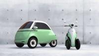 รถยนต์-สกูตเตอร์ไฟฟ้า Microletta และ e-scooter